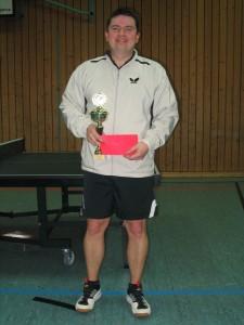 Turniersieger Johann Bergen